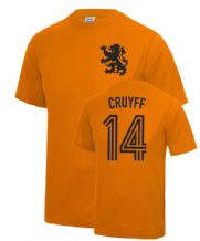 Johan Cruyff Holland Fancy Dress Football T Shirt